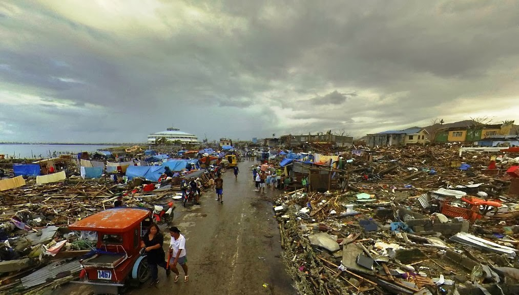 Tacloban after Super Typhoon Haiyan