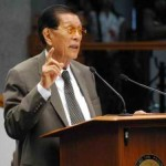 Sen. Enrile Solidly Supports Parliamentarism