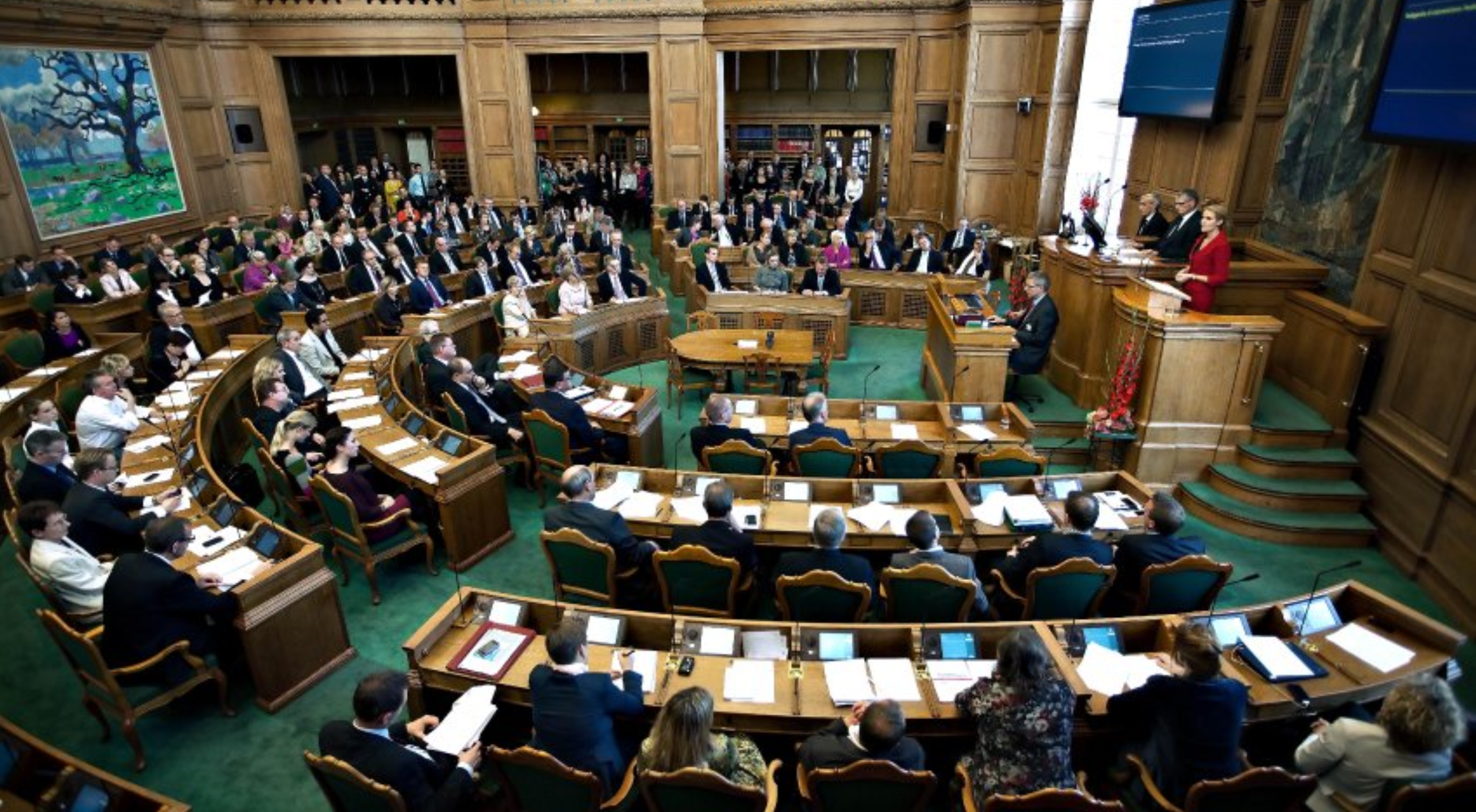The Folketing: Denmark's Parliament ---- Denmark has consistently been the least corrupt country according to Transparency International's Corruption Perceptions Index